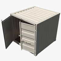 8 ft storage container 3d model