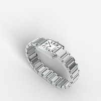 3d model watch lady