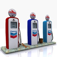 gas pump chevron max