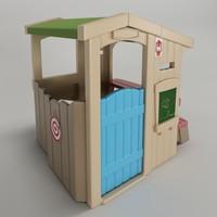 3d step2 - casinha camping model