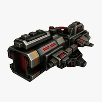 weapon gun 3d max