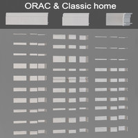 Floor baseboards Orac & Classic home