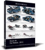 car details 2015 3d model