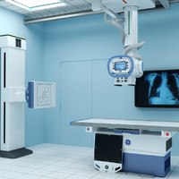 X-ray Room with Optima XR646