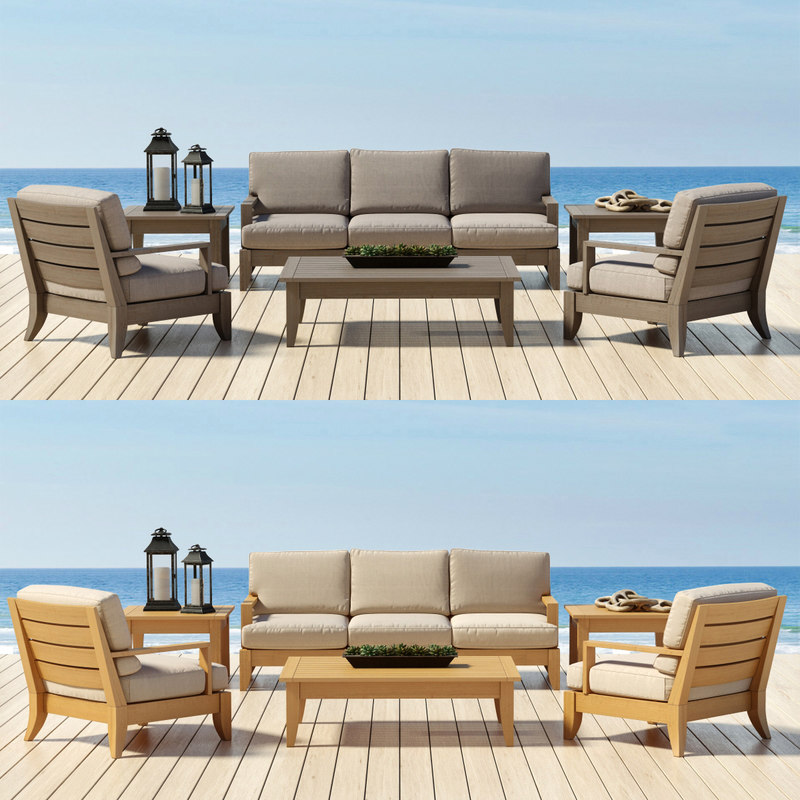 3d model of outdoor furniture santa barbara for Outdoor furniture 3d model