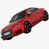 audi tts coupe sports 3d 3ds