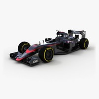 3ds max mclaren honda mp4-30