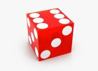 3dsmax - casino dice sharp
