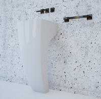 cinema4d basin bath bathroom