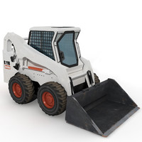 mini loader based 3d max
