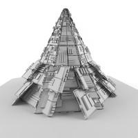3d symbol pyramid games model