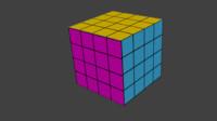 3d rubic cube