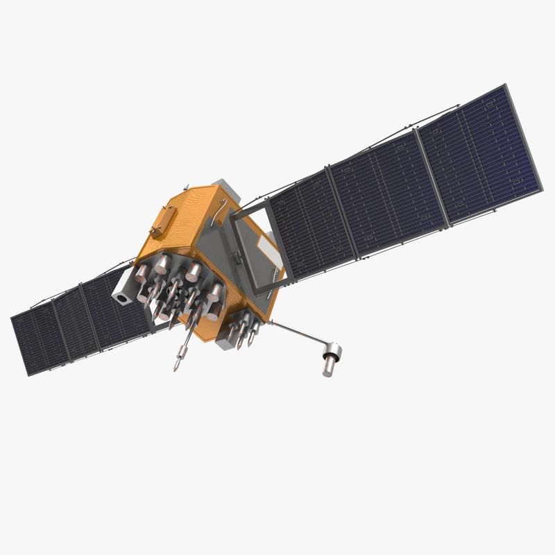 GPS Satellite Navstar Block IIF 3d model 00.jpg