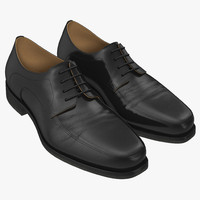 3d old man shoes 5 model