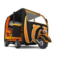 rickshaw 3d 3ds