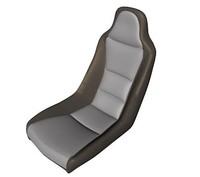 sports car seat 3d c4d