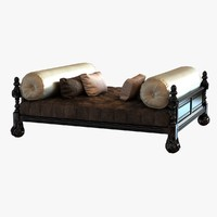 daybed big square classic 3d max