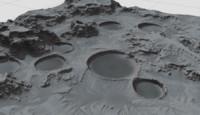 3ds max terrains moon