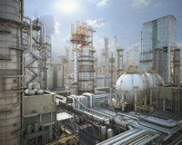 mega refinery obj