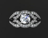 3d model jewellery ring
