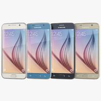samsung galaxy s6 smartphone 3d max