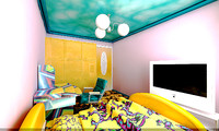 bedroom fantasy 3d model