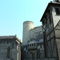 castle games 3d model
