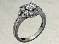jewellery ring 3dm