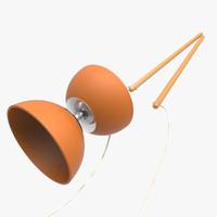 diabolo cord 3d model