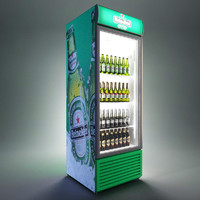 3ds max beverage cooler