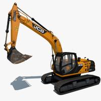 maya excavator js220 sc