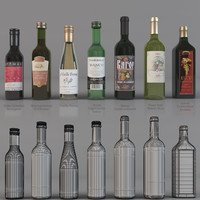 bottle wine 3ds