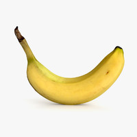 cavendish banana fruits 3d 3ds