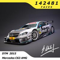 DTM Mercedes AMG C63 2015
