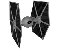 Star Wars Tie Fighter (High Detail)