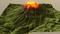 vulcano 3ds