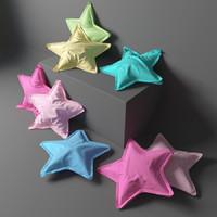 3d max pillow stars