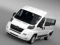 3ds max citroen relay window van