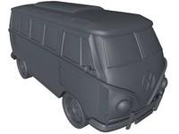 van camper volkswagen 3d x