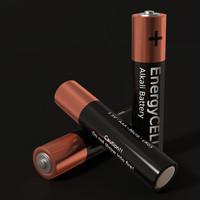 aaa battery obj