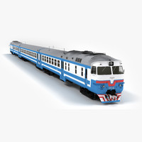 3d dr1a diesel passenger train