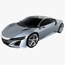 Acura NSX 3D models