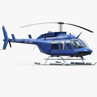 Bell 206 L4 Helicopter
