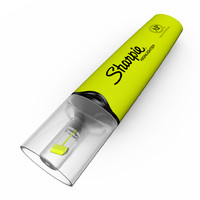 sharpie highlighter clear view 3d model