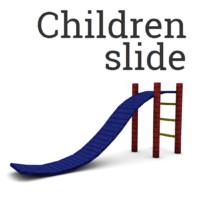 children slide c4d free