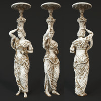 3d statue decoration