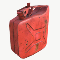 Jerry can lowpoly