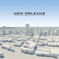 maya new orleans cityscape