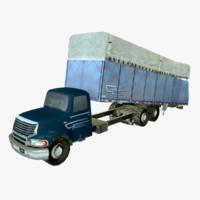 3d model module truck