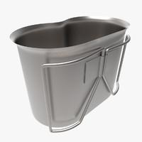 3d model quart inox